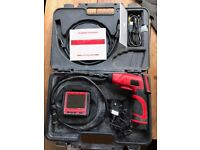 Inspection camera with remote screen