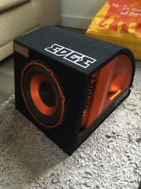 Edge Subwoofer, Headunit, Amp, Speakers, Wires + more.