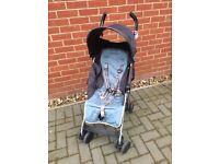 Maclaren Quest Blue/Grey Stroller