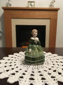 Royal Doulton Figurine. Belle 4.5 inches high. Absolutely immaculate