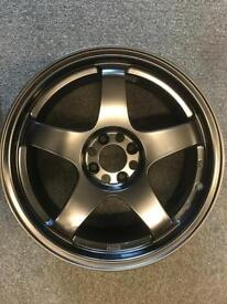 "1 fiat abarth 17"" Alloy Wheel for sale only got one £120 call 07860431401"