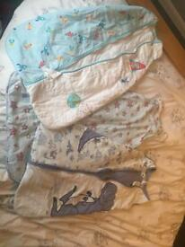 Bundle of Gro Bags/baby sleeping bags 6-18 months