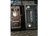 Octpus and switchblade pedals