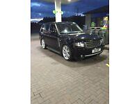 Black Range Rover td6
