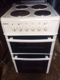 £92.89 Beko electric cooker+50cm+3 months warranty for £92.89