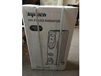 Top tech oil filled radiator