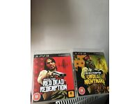 Red dead redemption & undead nightmare ps3