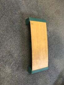 Wooden Sprung Exercise Step