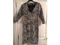 French connection Dress Uk10 worn once