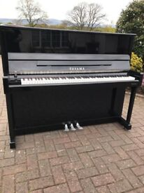 Toyama black upright piano|BelfastPianos| Free delivery