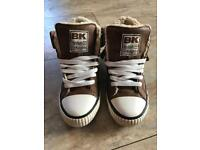 British knights size 3 high tops