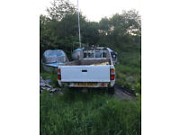 Ford Ranger 4X4 single can pick up, tow bar.