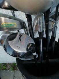 Golf clubs (Donnay, Callaway, Ryder)