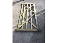 Wooden Farm Gates. width; 4800 height; 1200. £80