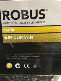 Robus 3kw over door heater. NEW