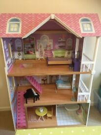 Wooden Large Dolls House