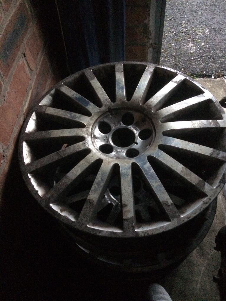4x 18 inch ford ST alloy wheels