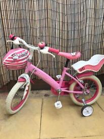 Girls bike 14 inch