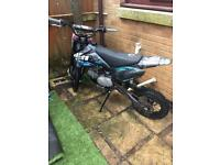 WELSH PITBIKE 125cc. SWAPS FOR A MOPED OR £350