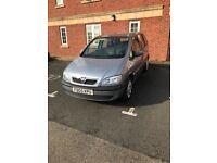 Vauxhall Zafira 7 Seater 1.6 2005