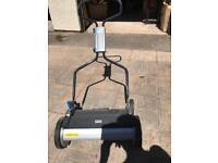 Mac allister manual lawn mower as new!