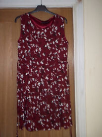 Ladies Fully Lined Dress Size 14