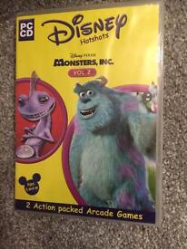 Monsters inc pc cd game
