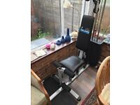 Carl Lewis Home Gym multi gym weights Full working order