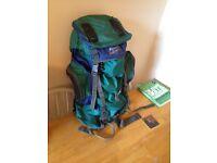 Large Big Rucksack Backpack For Sale - Sherpa 65L Huge £10 only USED