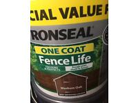 3 x 12 litres Ronseal FREE relisted due to time wasters