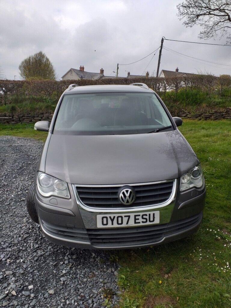 Vw Touran Nice Car 7 Seater Mot May 2020 In Barnstaple Devon