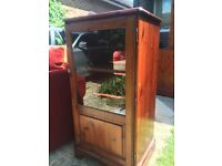 Ducal Hi-Fi pine cabinet, Hampshire range, used condition