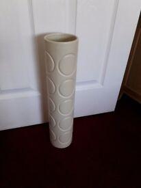 Tall slim vase