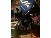 Mizuno MP-57 golf clubs driver and ping bag and putter