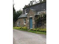 Three bedroom detached Farm House , recently refurbished, near Blair Atholl.
