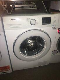 Samsung ecobubble WF80F5E2W4W Washing Machine - White