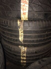 265/40/21 continental tyres x2