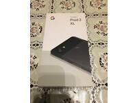 BRAND NEW Google Pixel XL 2 128gb Black locked to EE