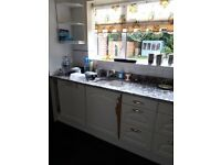 kitchen granite worktops black and white X 4