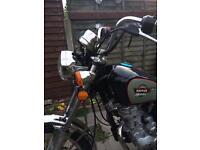 125 motor bike