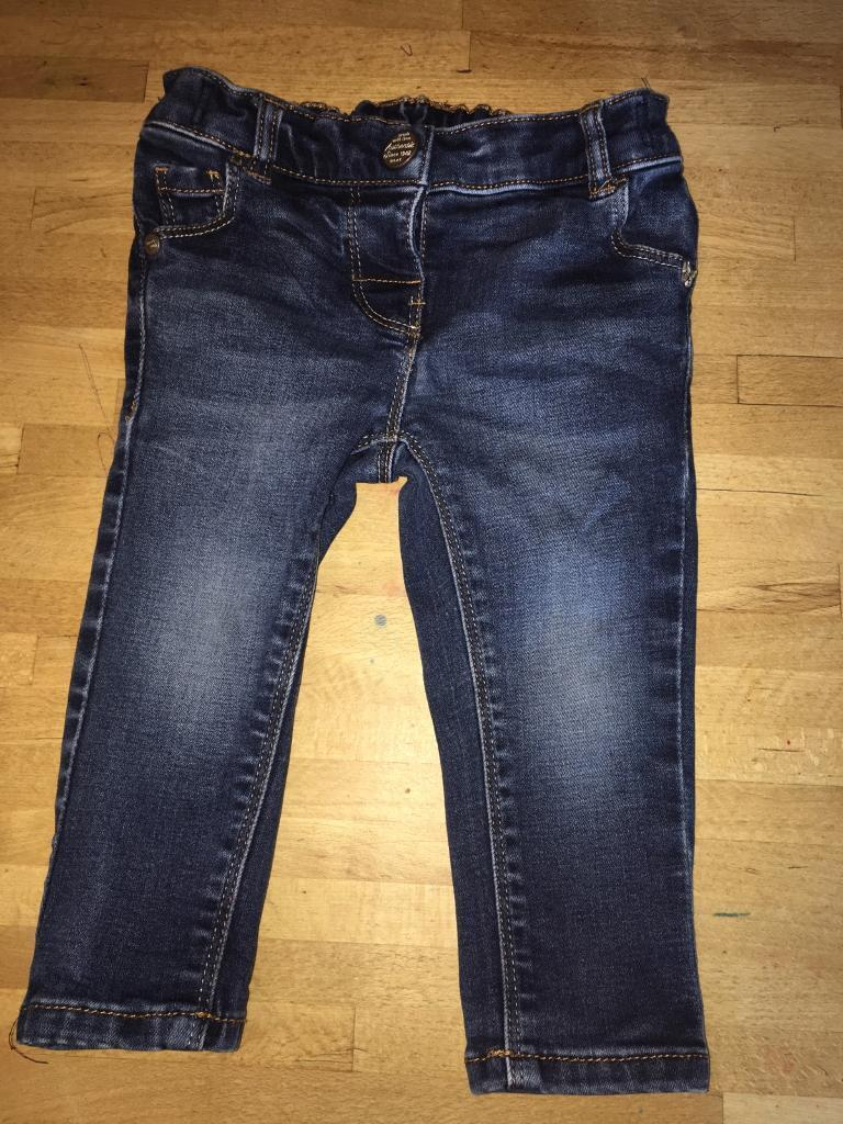 9-12 Months baby girls next jeans