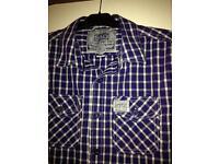 Superdry large men's short sleeve shirt