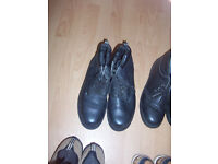 Great condition, size 11 pair of leather boots.