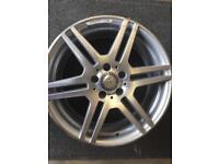1 Mercedes Benz amg 8x18 Alloy wheel only got one £155 call 07860431401