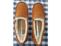 Ladies Morlands Sheepskin Slippers size 8, brand new, in box.
