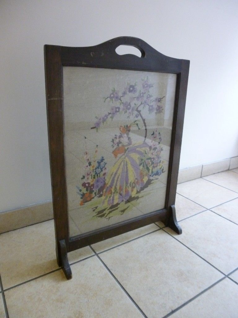 glasgow fire jordanhill vintage p gumtree fireplace antiques screen in