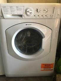 HOTPOINT Aquarius WDL540P.C Washer Dryer - White