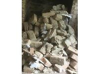 Free brick rubble