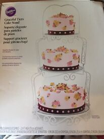 Lovely tiers cake stand