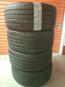 275/40/22 4 pneus été  continental crosscontact